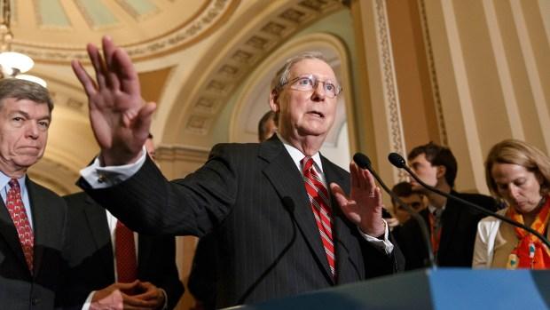 Mitch McConnell, líder del Partido Republicano en el Senado