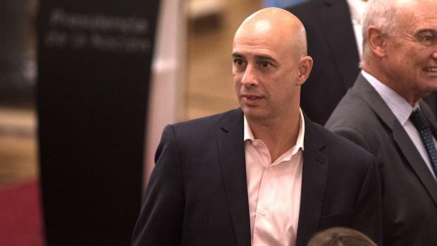 Martín Ocampo, ministro de Justicia porteño (Adrián Escandar)