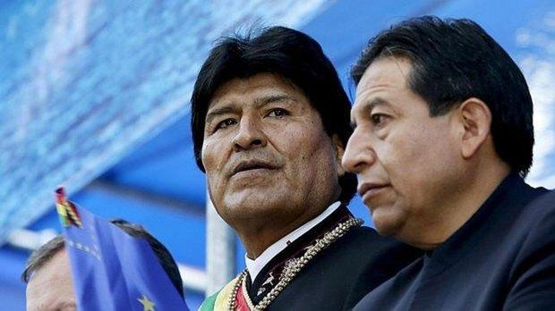 Evo Morales , presidente de Bolivia.