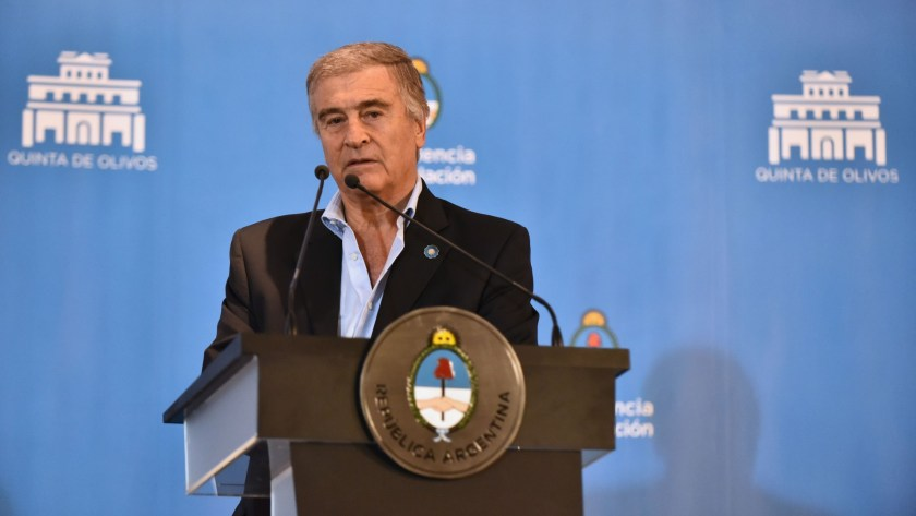 El ministro de Defensa, Oscar Aguad (Foto: Adrián Escandar)