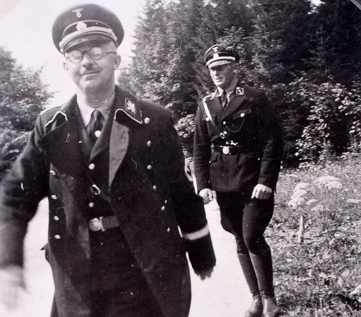 Heinrich Himmler, el brutal arquitecto del Holocausto (C&T Acuctions/BNPS)
