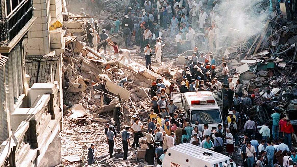 El atentado terrorista ocurrió el 17 de marzo de 1992 (NA)