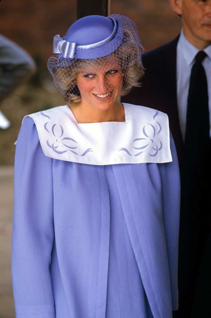 La princesa Diana embarazada de Harry en 1984