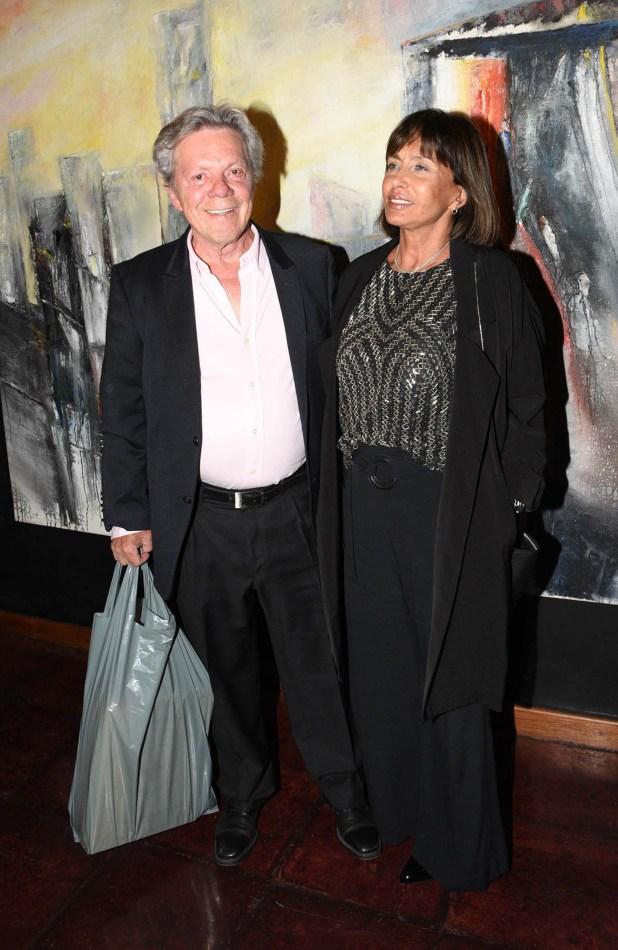 Emilio Disi y su señora