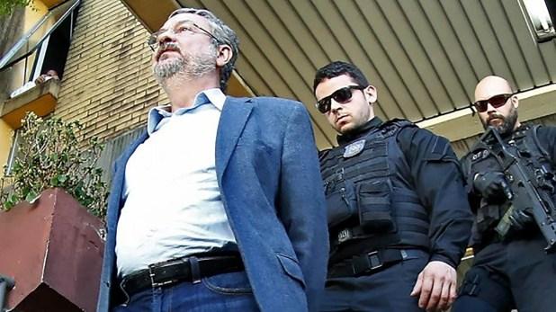 El día que Palocci fue arrestado (EFE)