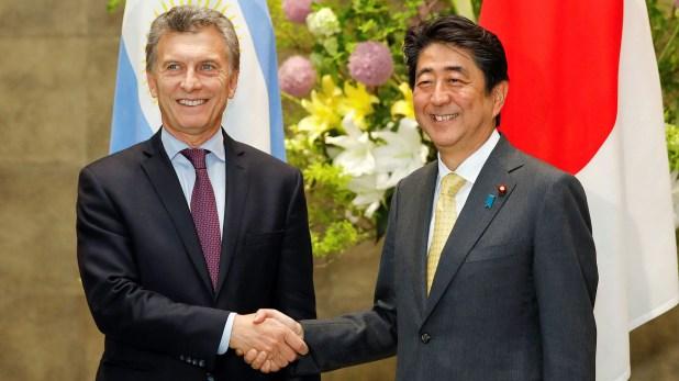 Mauricio Macri en su visita a Japón (Reuters)