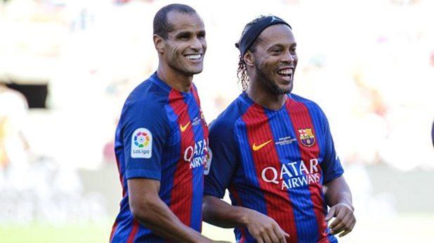 Ronaldinho y Rivaldo, dos glorias del FC Barcelona