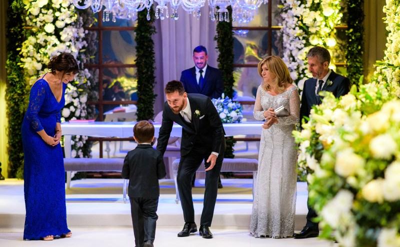Thiago, el hijo de Messi