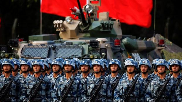 La OTAN alertó sobre el crecimiento militar de China