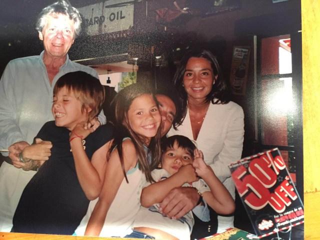 Hace varios años, cuando los hijos de Laura aún eran chicos