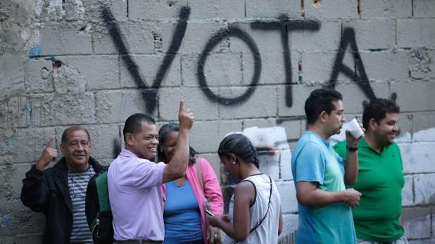 Comenzaron los comicios en Venezuela (REUTERS/Ueslei Marcelino)