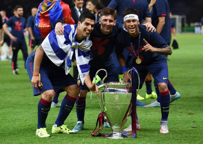 """Los """"pesos pesados"""" del vestuario del Barcelona avalan el regreso de Neymar (Getty)"""
