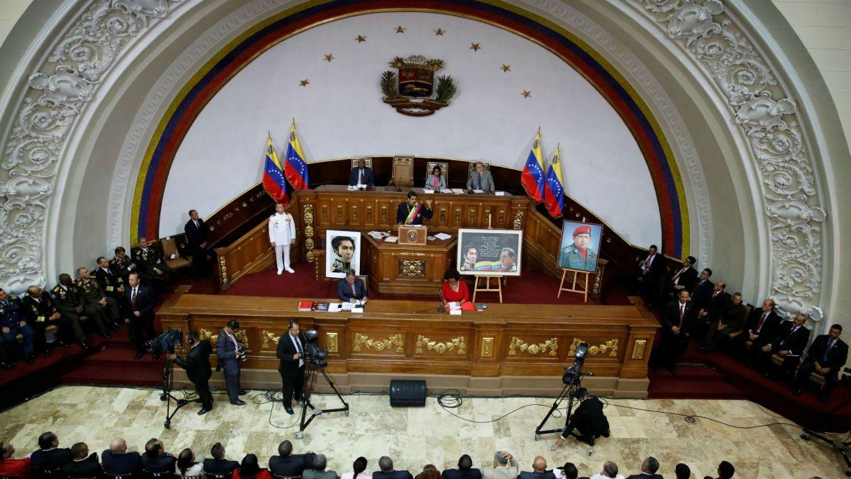 La Asamblea Constituyente venezolana (Reuters)