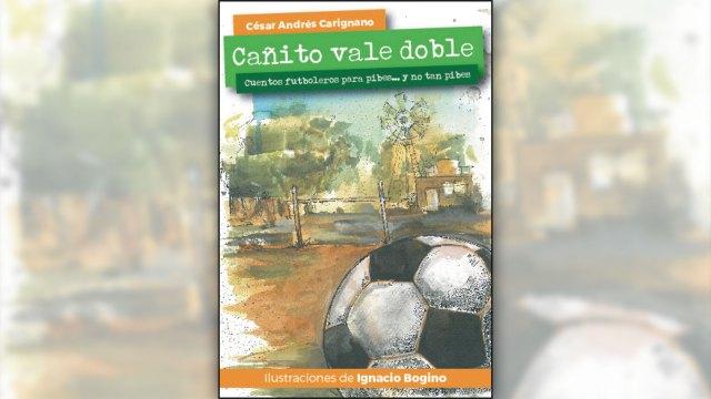 La tapa del libro, con una de las ilustraciones de Ignacio Bogino