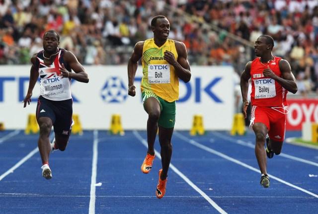 En 2009, Usain Bolt disputó el Mundial de Berlin, donde terminó de confirmar que era una leyenda viva(Getty Images)