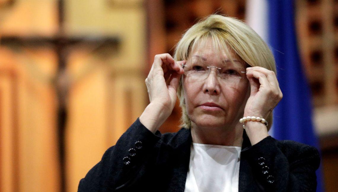 La destituida fiscal general de Venezuela Luisa Ortega Díaz