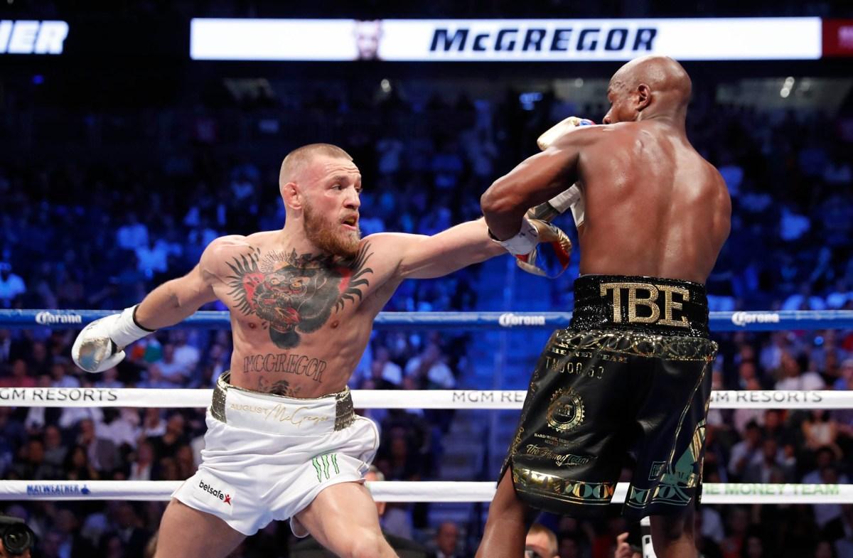 McGregor no pudo cumplir con su palabra de ganar el combate