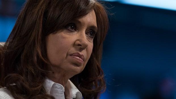 Cristina Kirchner (Adrián Escandar)