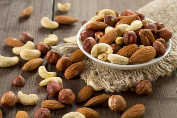 Algunos frutos secos también pueden conllevar un cuadro de alergia