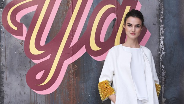 Blanca Padilla, la top model de Victoria's Secret, reveló la receta del brownie vegano que comen los ángeles (Photo by Carlos Alvarez/Getty Images)