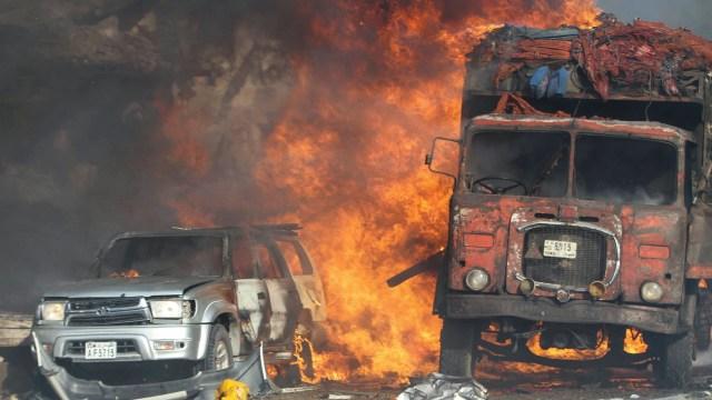 Al menos 30 muertes tras la explosión de un camión bomba en Somalía (EFE)