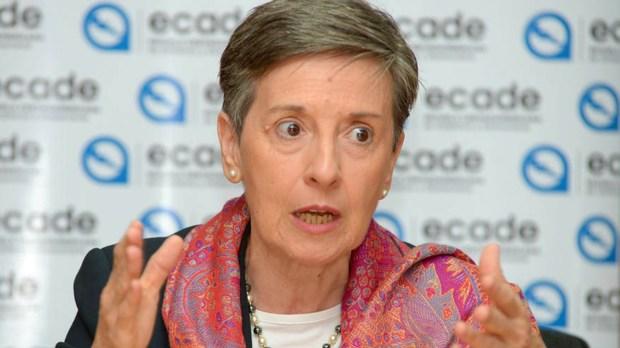 Delia Ferreira Rubio fue designada al frente de Transparencia Internacional en octubre del año pasado. La prestigiosa ONG tiene sede en Berlín, Alemania