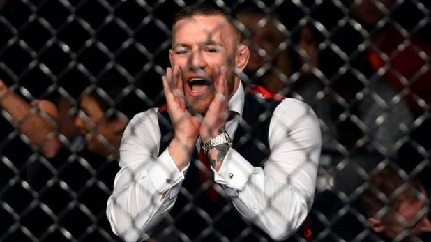Los escándalos de McGregor también estuvieron marcados por sus gritos homofóbicos en un combate
