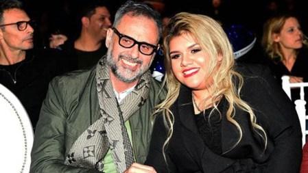 Jorge y Morena Rial (Foto: Verónica Guerman / Teleshow)