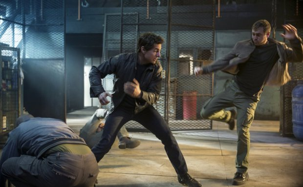 Tom Cruise hizo toda sus escenas de alto riesgo sin recurrir aun doble.
