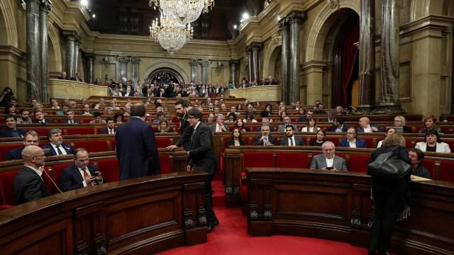 Parlamento de Cataluña (Reuters)