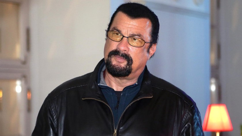 Steven Seagal. (Photo by Kristina Nikishina/Getty Images for Mercedes-Benz Fashion Week Russia)