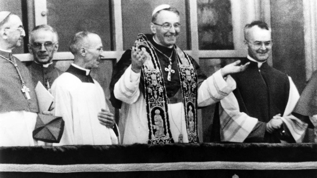 """Albino Luciani , """"el Papa de la sonrisa"""" (Getty)"""