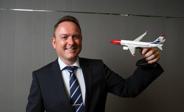 Christian Melhus, CEO de Norwegian Argentina (Agustin Marcarian)