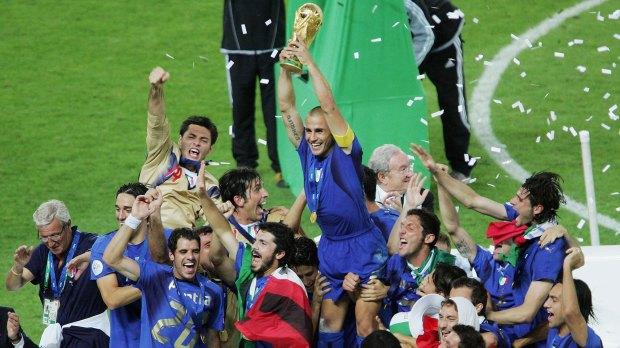 Los italiano se durmieron en los laureles tras ganar el Mundial de Alemania 2006 (Getty)