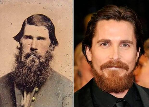Rasputin parece haber hechizado a Christian Bale con su parecido físico