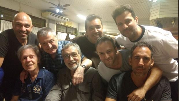 Amigos en las buenas y en las malas: la inolvidable cena de Emilio Disi junto a grandes humoristas