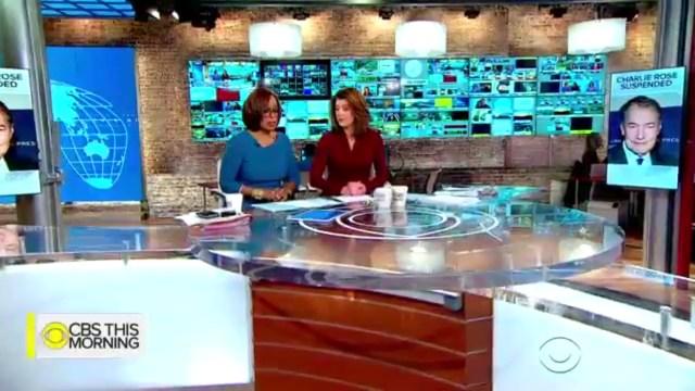 Las periodistas Gayle King y Norah O'Donnell
