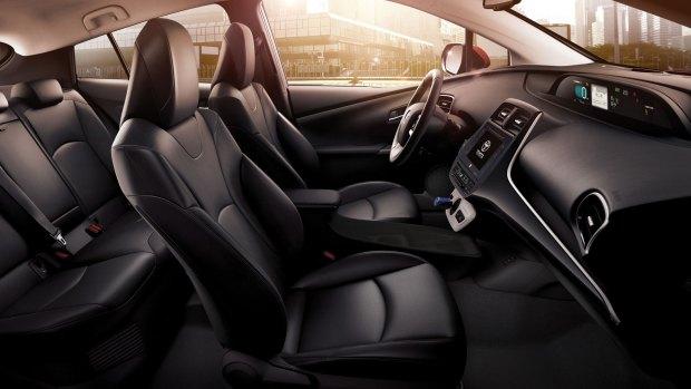 El interior de los autos híbridos es mucho más silencio que el de los autos de motores tradicionales.