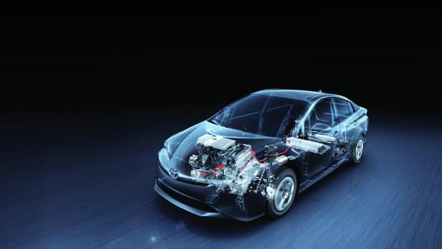 Los autos híbridos combinan dos motores: uno naftero y otro eléctrico.