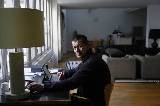 En su estudio parisino (Gueorgui Pinkhassov)