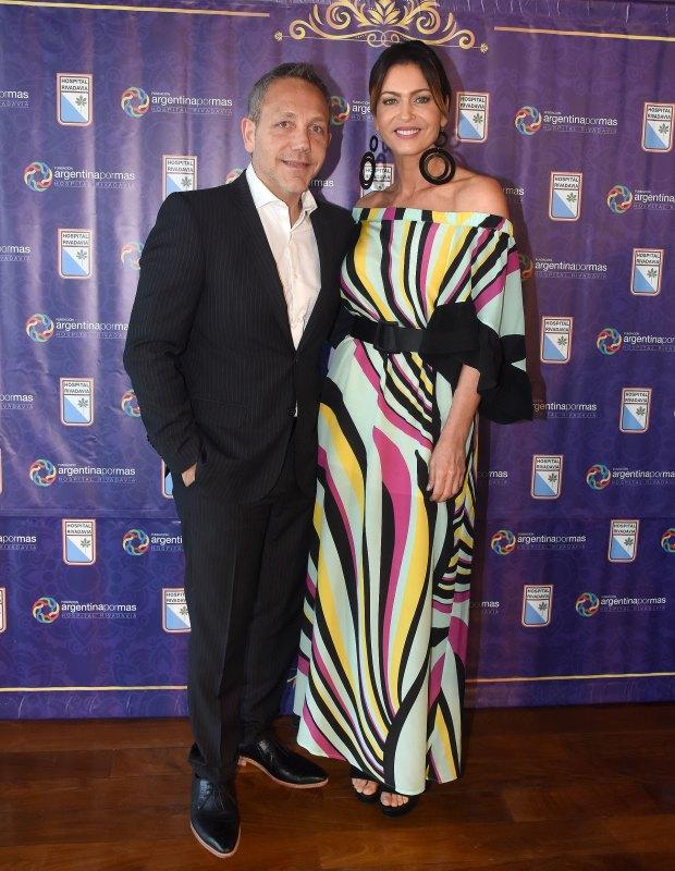 Guillermo Azar y Karina Mazzocco