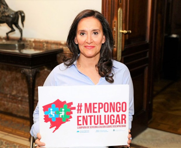 La vicepresidente de la Nación Gabriela Michetti se suma a la iniciativa