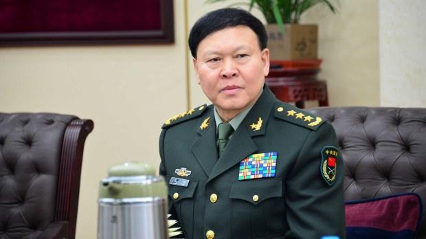Zhang Yang, el general presidente del departamento político de la Comisión Militar Central. Se ahorcó antes de enfrentar una sentencia (Reuters)