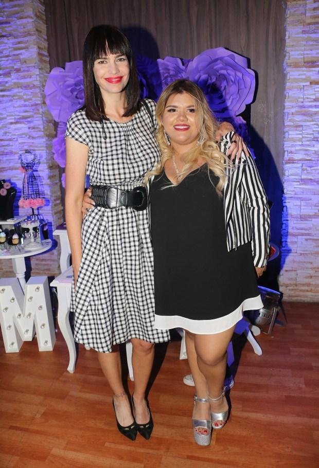 More con Romina Pereiro