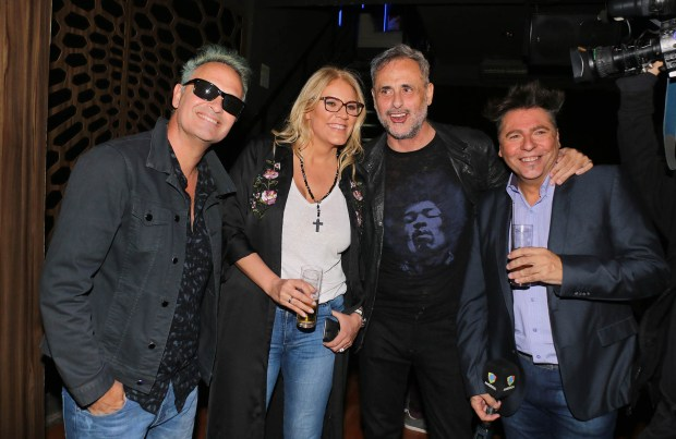 Tartu, Débora D'amato, Jorge Rial y Daniel Ambrosino