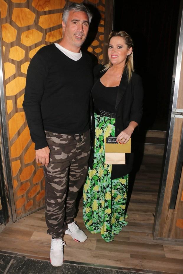 Pilar Smith y su marido
