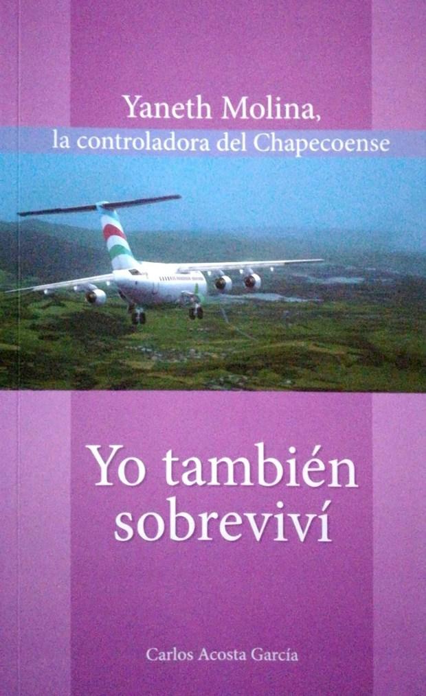 El libro de Yaneth Molina escrito por su marido (EFE)