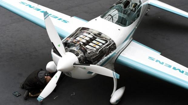 Un prototipo de avión híbrido a hélice desarrollado por Siemens
