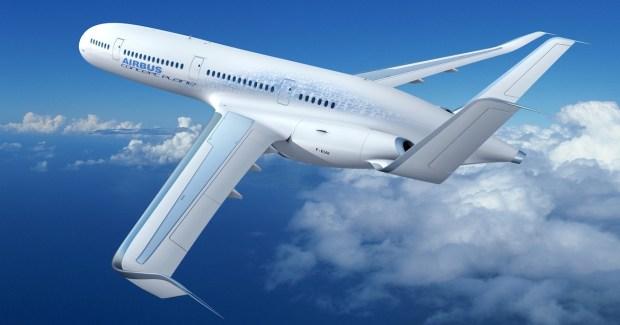 ¿Cómo serán los aviones comerciales en 2050? Airbus imagina un futuro con propulsión híbrida para reducir emisiones contaminantes y consumo de combustibles fósiles