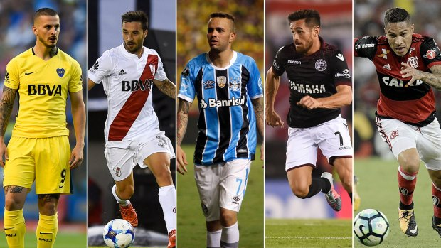 Dario Benedetto, Ignacio Scocco, Luan, Lautaro Acosta y Paolo Guerrero son los nominados